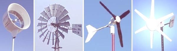 Aerogeneradores horizontales