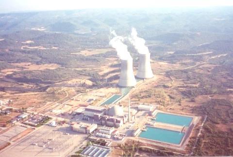 planta energía nuclear