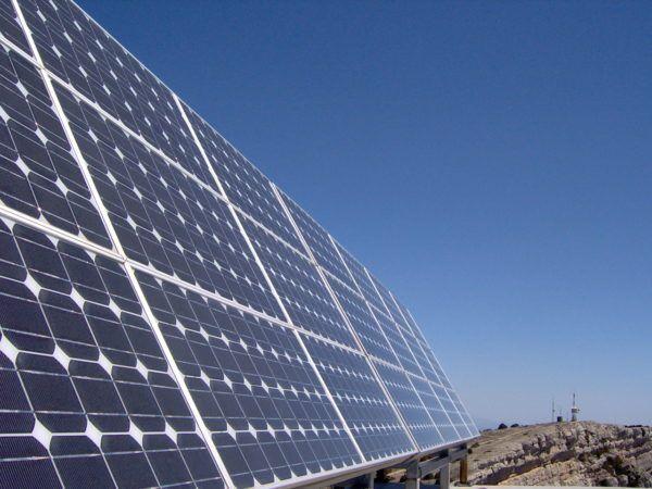 Radiacion solar paneles