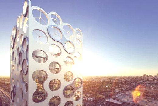 energía eólica edificio