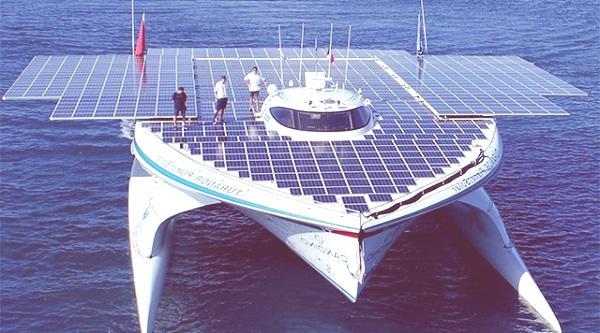 barco energia solar
