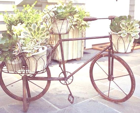 Reciclar viejas bicicletas