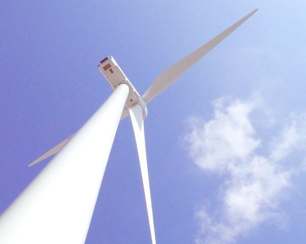 Constitucion aerogenerador turbina