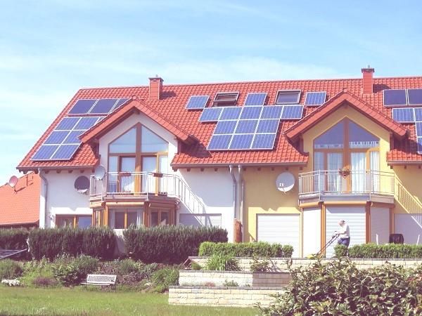 casa paneles solares