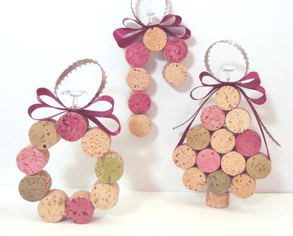 decoracion-navidena-con-materiales-reciclados-adornos-con-tapones-de-corcho