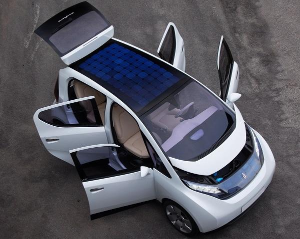 coche energia solar