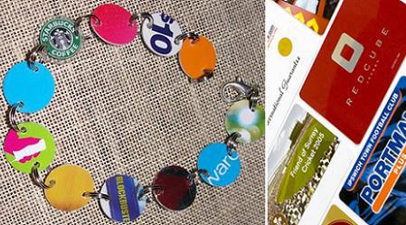 reciclar-cosas-viejas-tarjetas-plastico-pulsera
