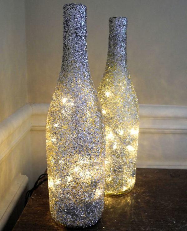 adornos-navidenos-reciclados-con-botellas-con-luces
