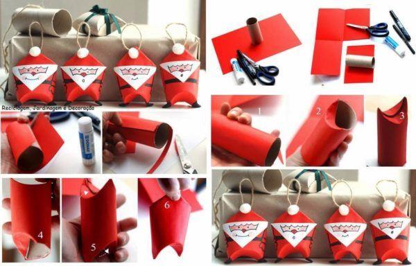 adornos-navidenos-reciclados-paso-a-paso-papa-noel