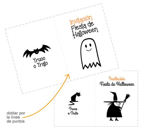 manualidades-de-halloween-para-ninos-para imprimir-invitacion