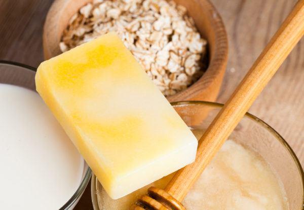 Como hacer jabon casero pastilla miel