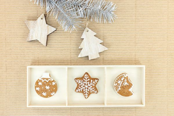 Decoracion navidena con materiales reciclados adornos galletas 2020
