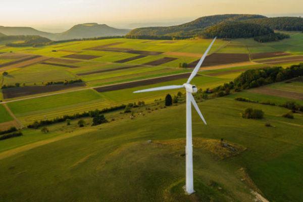 Qué es la energía verde molino viento