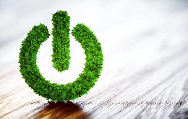 Qué es la energía verde logo