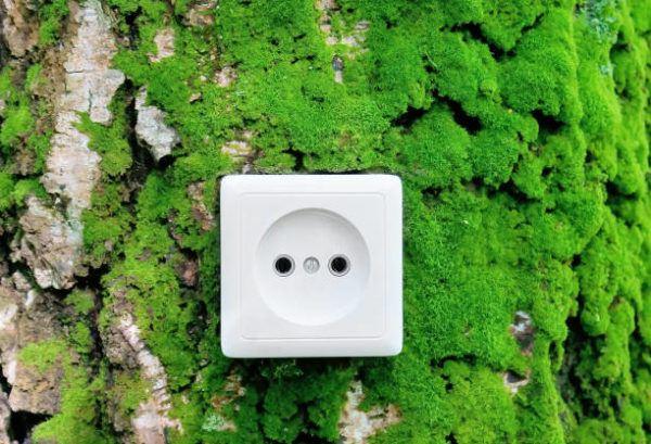 Qué es la energía verde enchufe