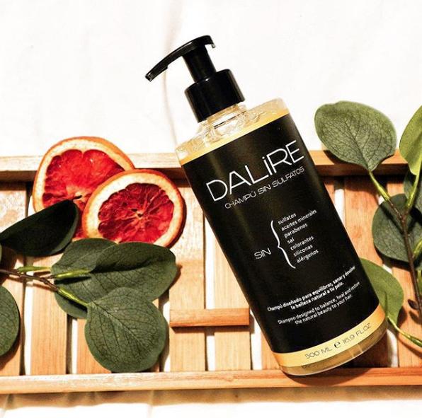 Review del champú sin sulfatos Dalire pomelo y bardana