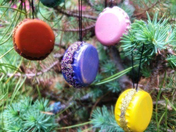 Arboles de navidad 2021 con adornos reciclados ideas y fotos FOTOS tapones