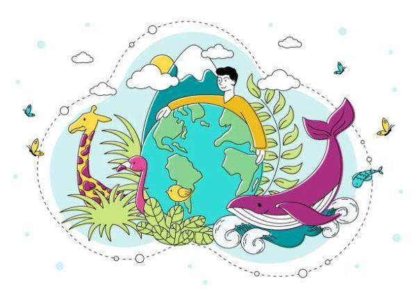 Mejores dibujos medio ambiente animales