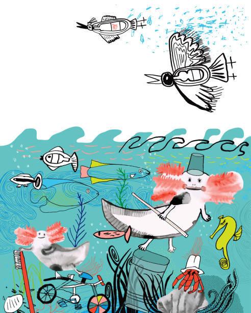 Mejores dibujos medio ambiente contaminacion plasticos
