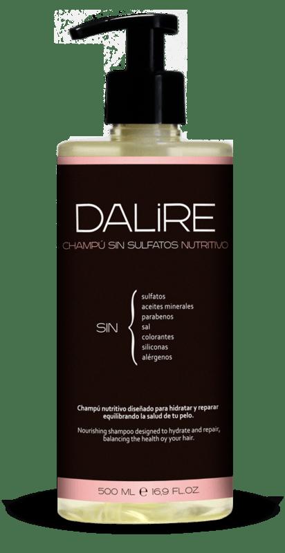 ¿Cuáles son las características del champú sin sulfatos nutritivo de Dalire? Esto es lo que opino tras probarlo bote