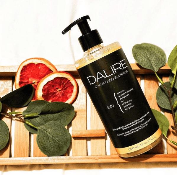 ¿Cuáles son las características del champú sin sulfatos nutritivo de Dalire? Esto es lo que opino tras probarlo toda la familia