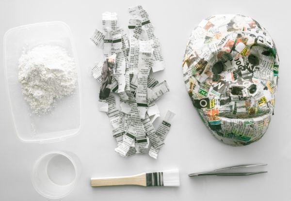 Mejores juegos para ninos para reciclar aprender a la vez mascara papel mache