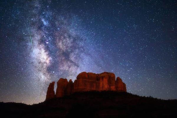 Liridas 2022 observar lluvia estrellas