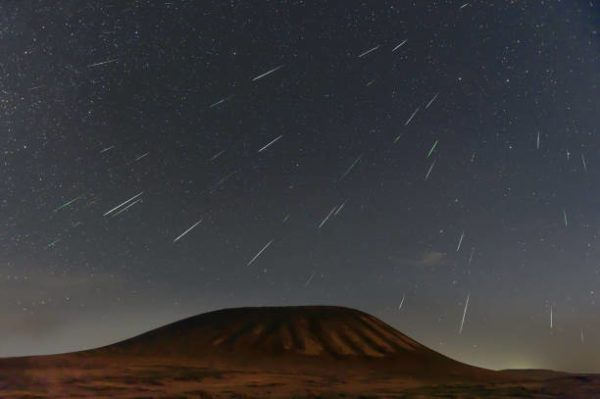 Liridas donde cuando observar la lluvia de estrellas