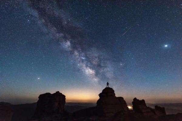 Que es la lluvia de estrellas draconidas draconidas 2022