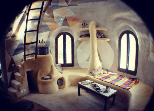 Cómo construir tu propia casa de adobe paso a paso acabada