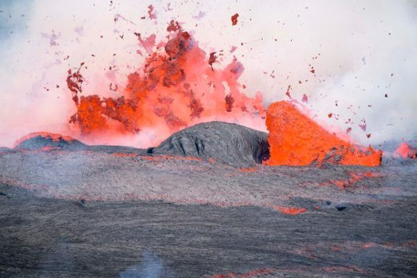 Cómo contribuyen los volcanes al cambio climático erupción