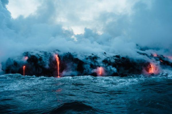 Cómo contribuyen los volcanes al cambio climático gases