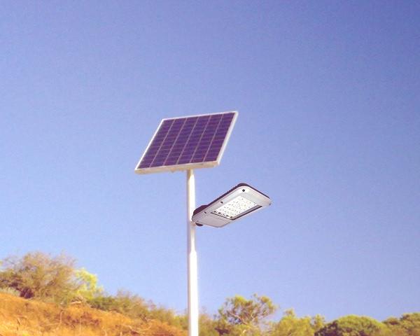 farola energia solar