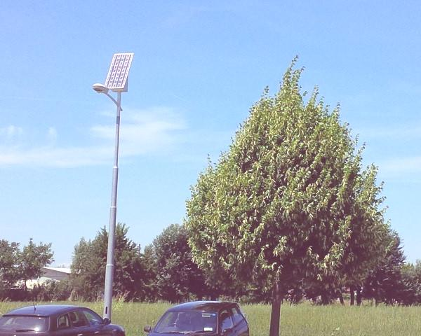 iluminacion publica renovable