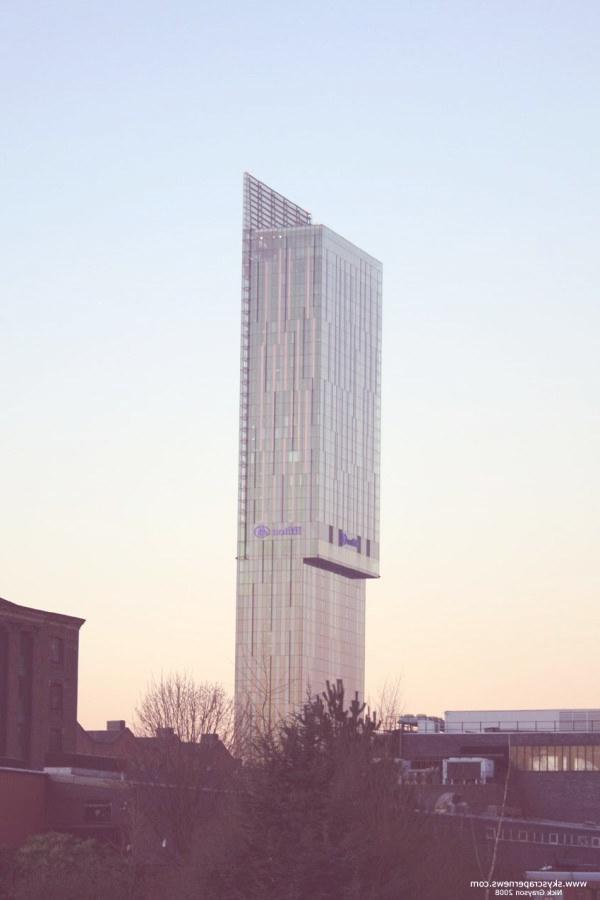 La CIS Tower, en Manchester, Inglaterra