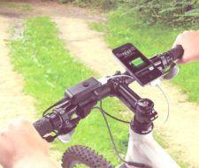 Energia cinetica | Bicicleta con cargador para telefonos moviles