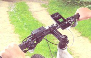 Energia cinetica   Bicicleta con cargador para telefonos moviles