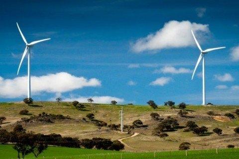 aerogeneradores montaña