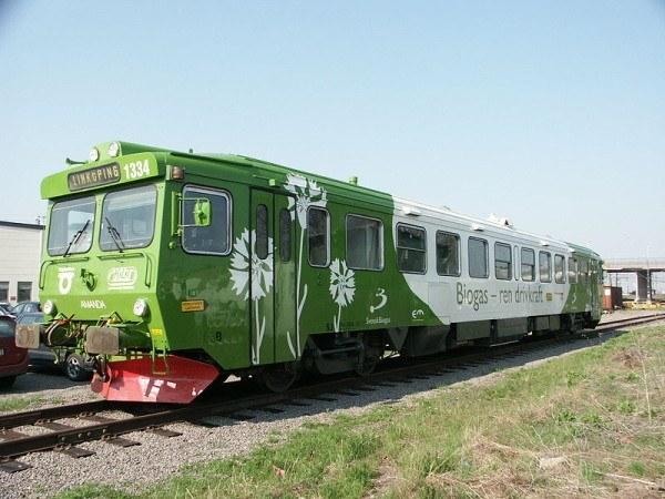 Biogas tren