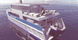 Un barco que funciona con energía solar para patrullar la Gran barrera de Coral