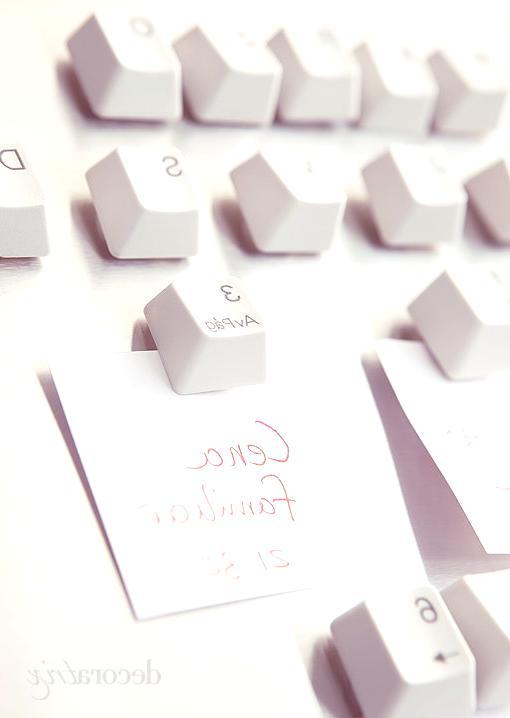 Reciclar un teclado de ordenador