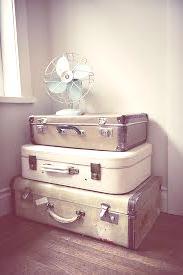 Reciclar viejas valijas