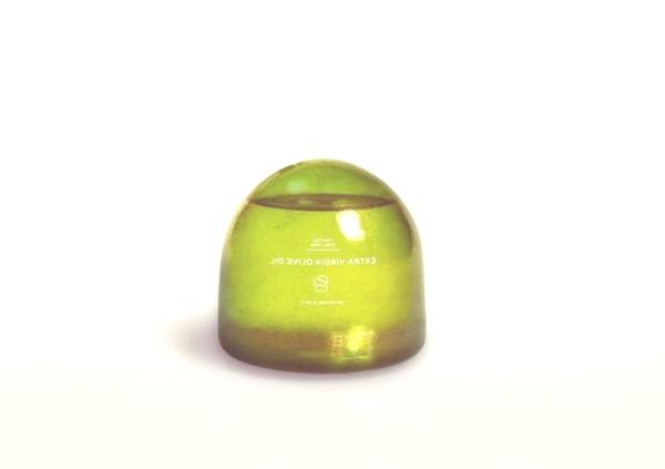 aceite envoltorio biodegradable