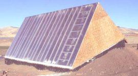 Construir un invernadero subterráneo para la jardinería durante todo el año por menos de 300 euros (Vídeo)