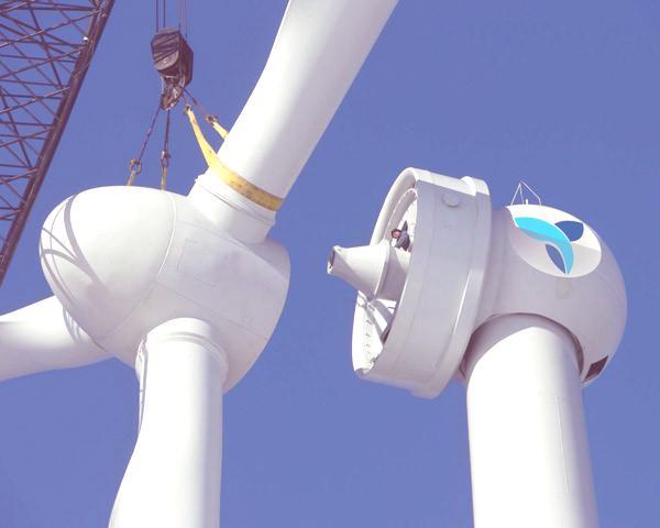 Equipamiento electrico aerogenerador