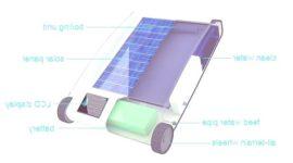 Sistema de desalinización solar a pequeña escala