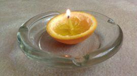 6 maneras de hacer una vela de emergencia con objetos domésticos