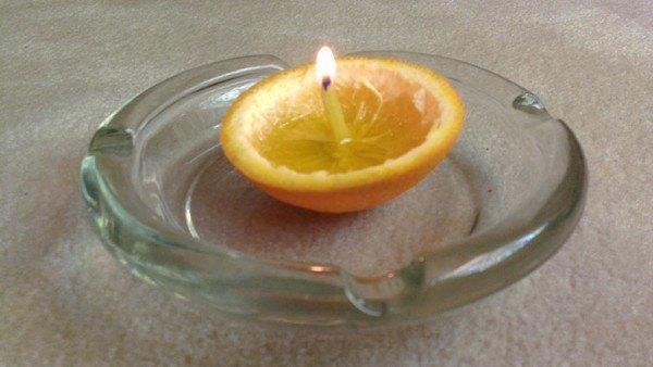 vela emergencia naranja