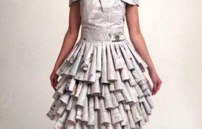 Disfraces originales para carnaval 2015 con materiales reciclados