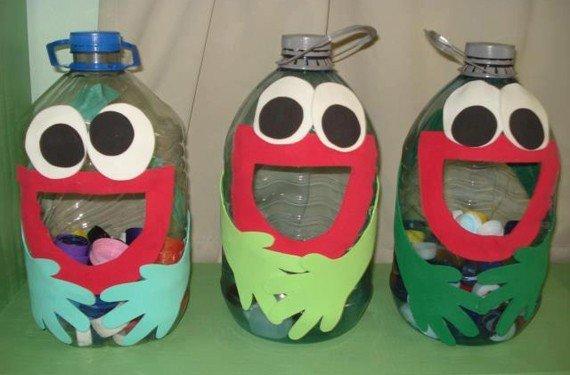 bolsa botellas de plastico